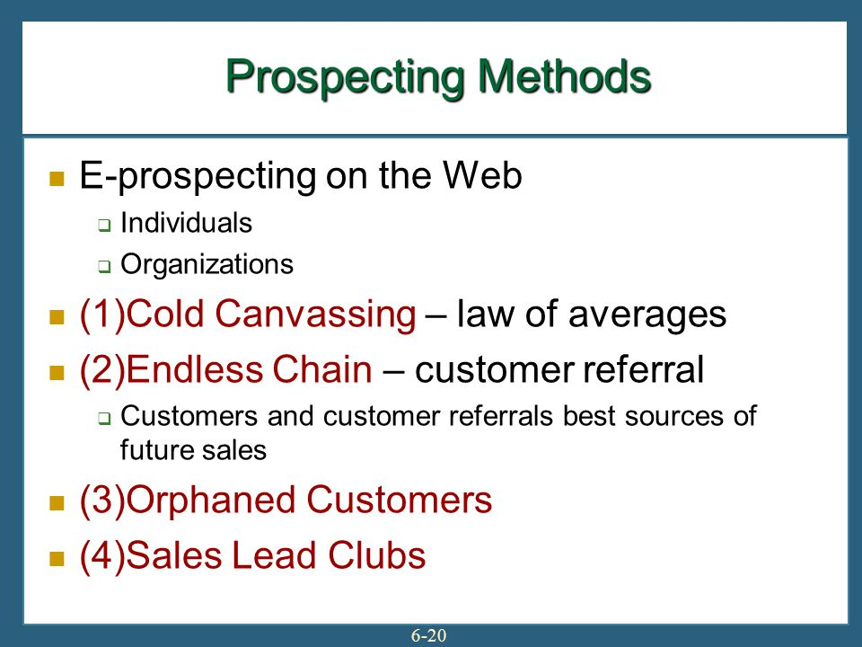 Prospecting—The Lifeblood - ppt download
