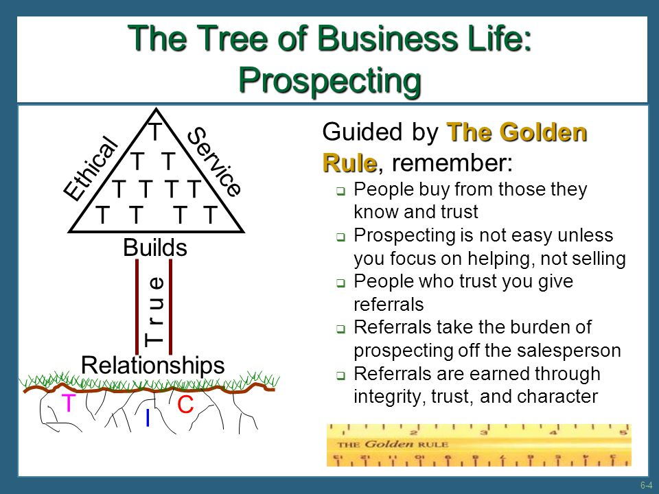 The Tree of Business Life: Prospecting