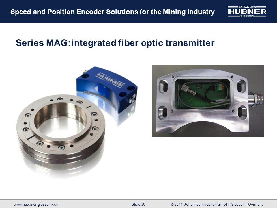 Series MAG: integrated fiber optic transmitter