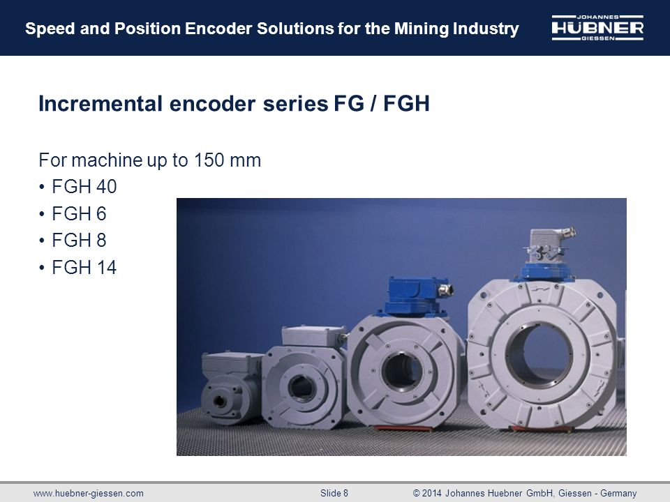 Incremental encoder series FG / FGH
