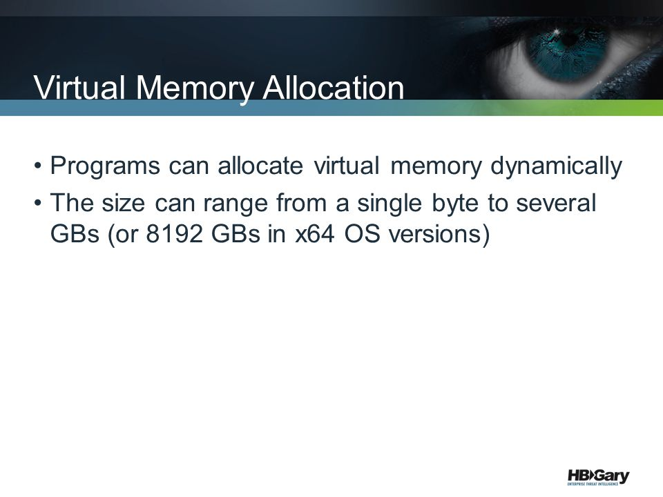 Virtual Memory Allocation