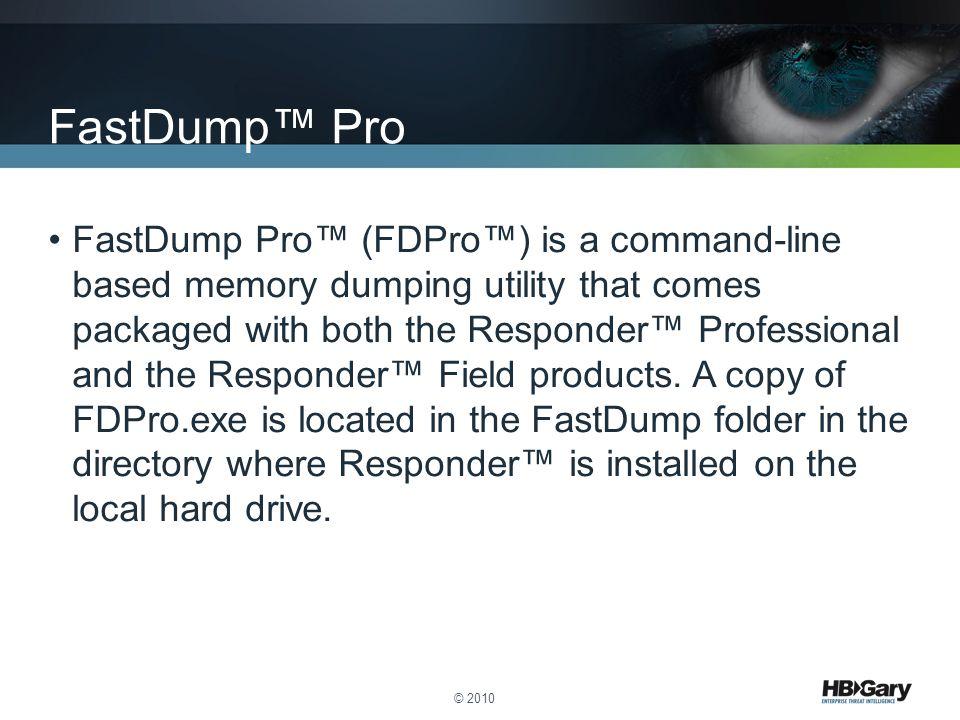 FastDump™ Pro