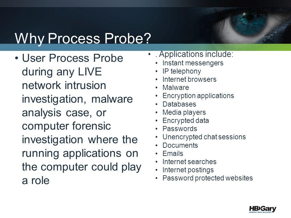 Why Process Probe