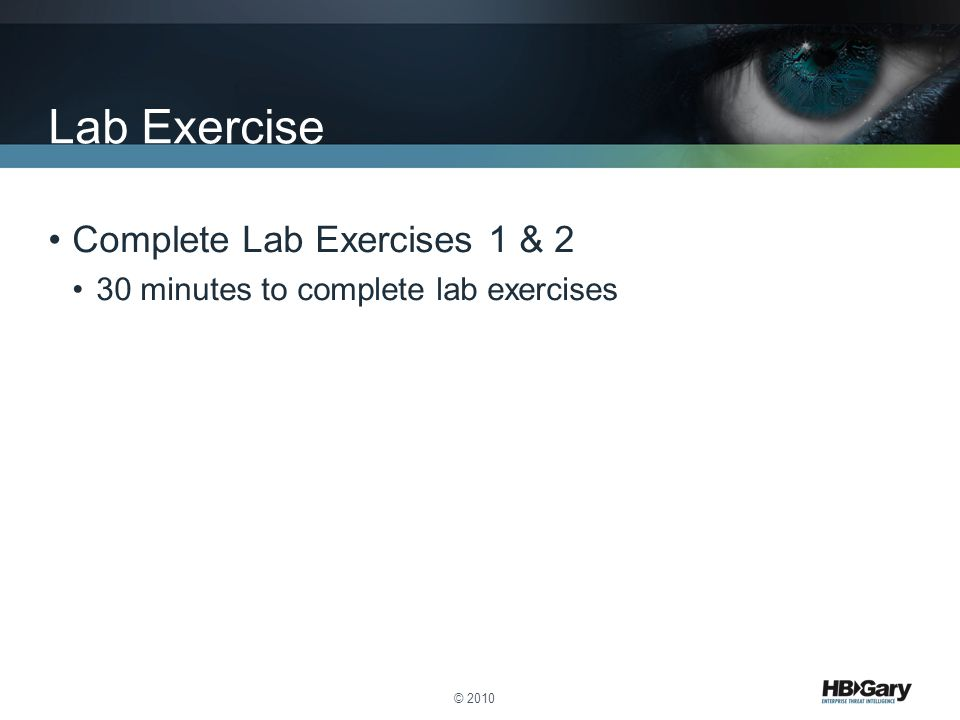 Lab Exercise Complete Lab Exercises 1 & 2