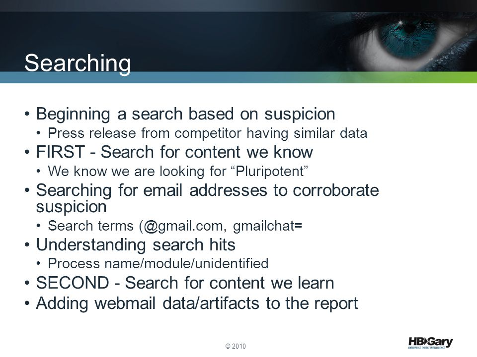 Searching Beginning a search based on suspicion