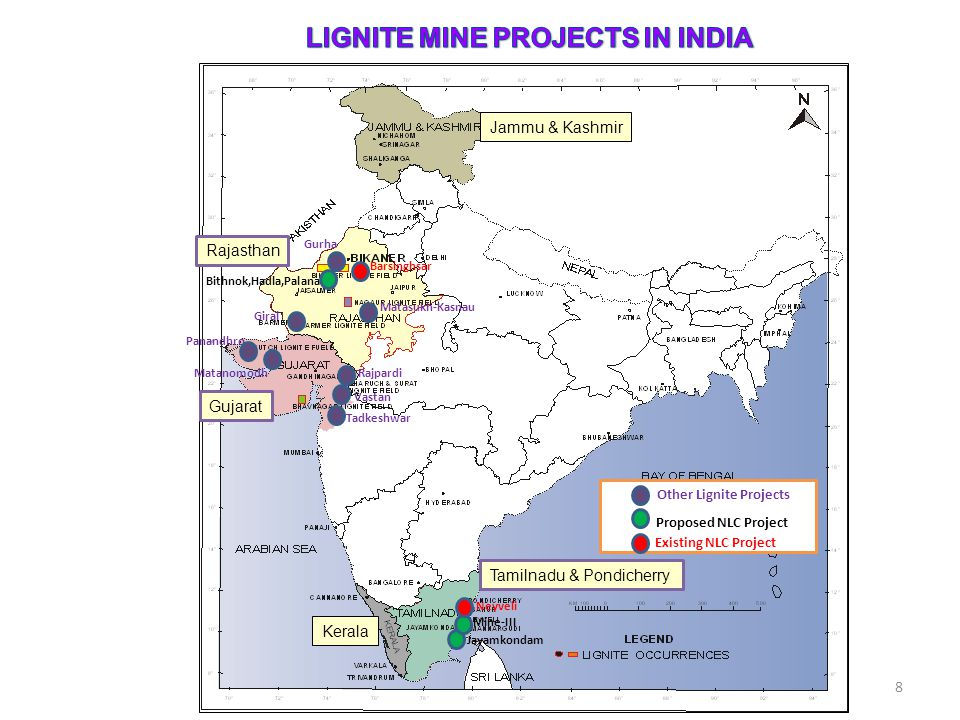LIGNITE MINE PROJECTS IN INDIA