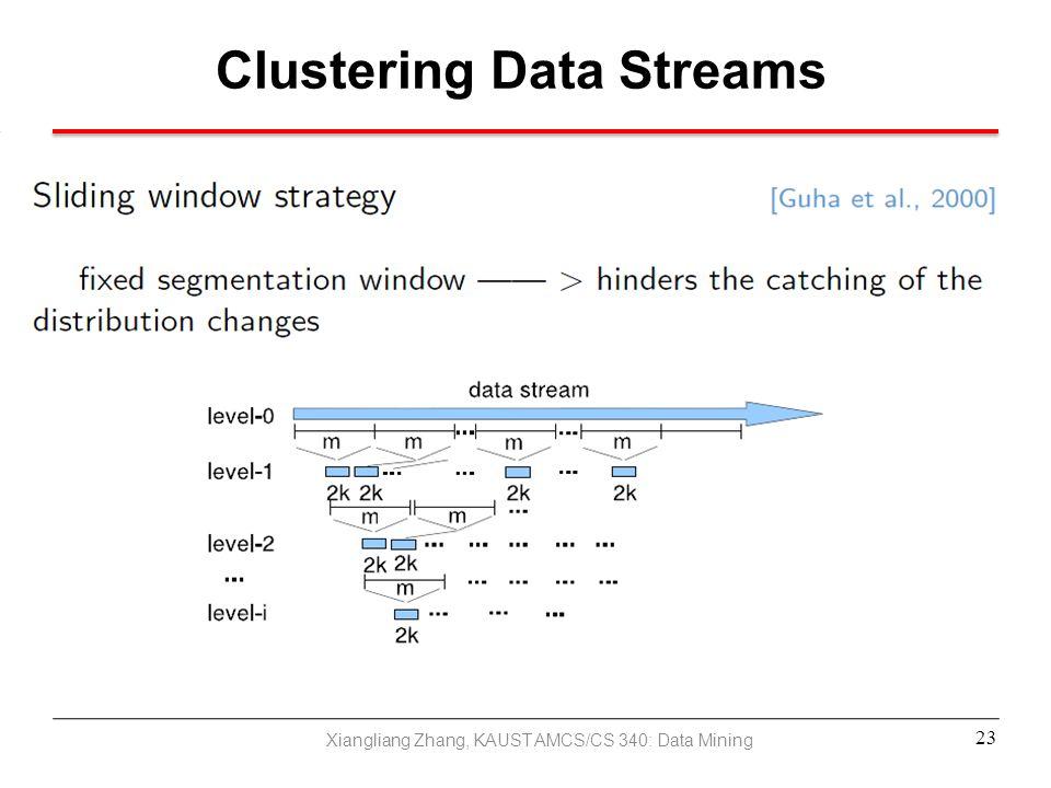 Clustering Data Streams