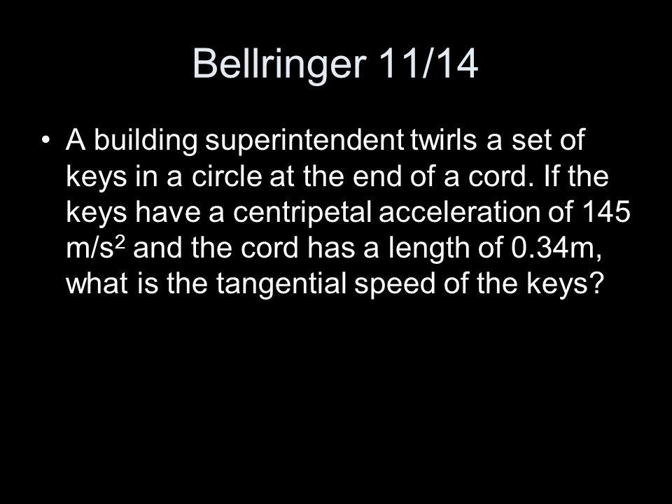 Bellringer 11/14