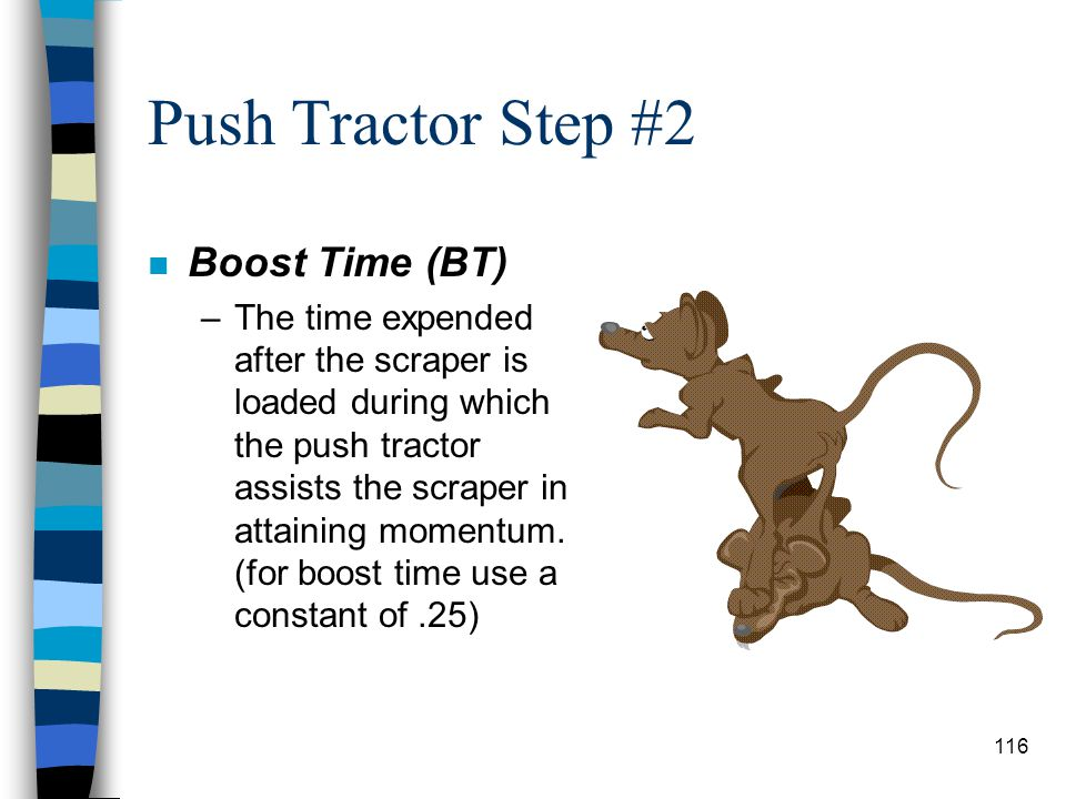 Push Tractor Step #2 Boost Time (BT)