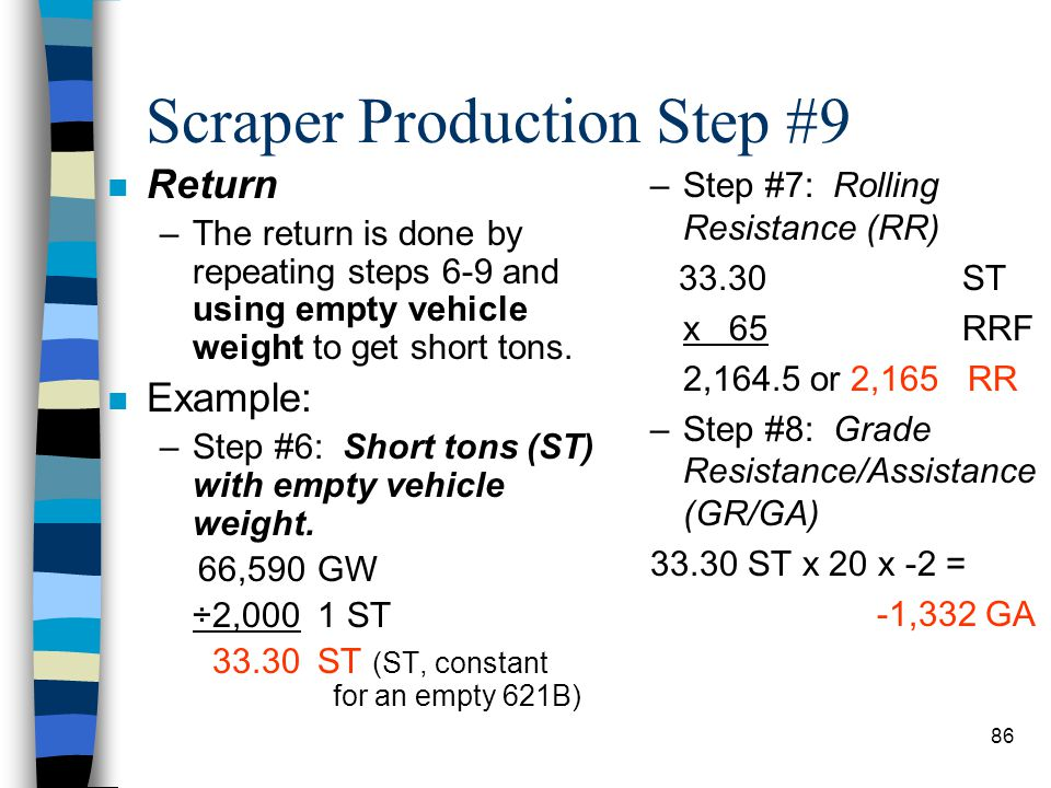 Scraper Production Step #9