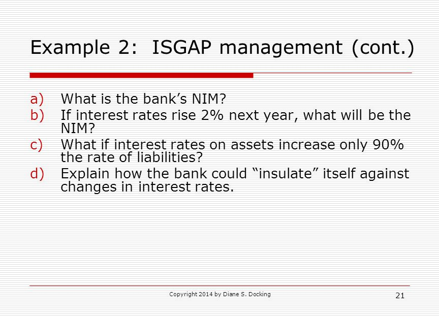 Example 2: ISGAP management (cont.)