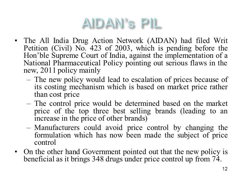 AIDAN's PIL