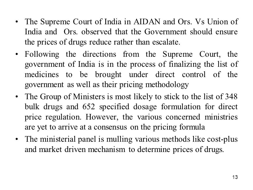 The Supreme Court of India in AIDAN and Ors. Vs Union of India and Ors