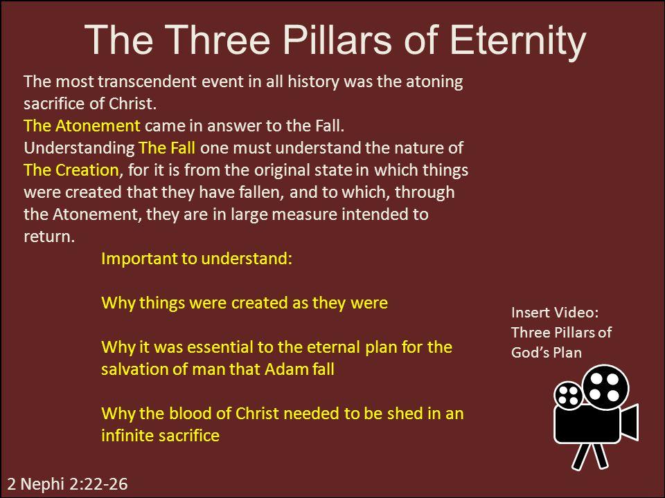 The Three Pillars of Eternity