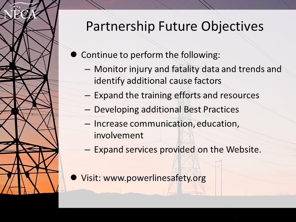 Partnership Future Objectives