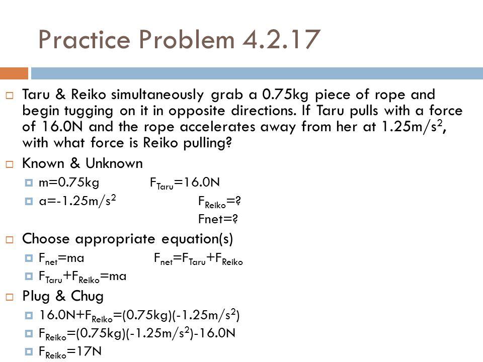 Practice Problem 4.2.17