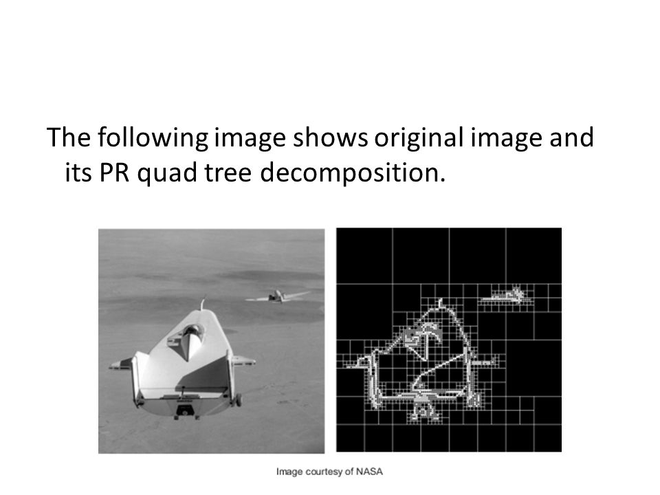 The following image shows original image and its PR quad tree decomposition.