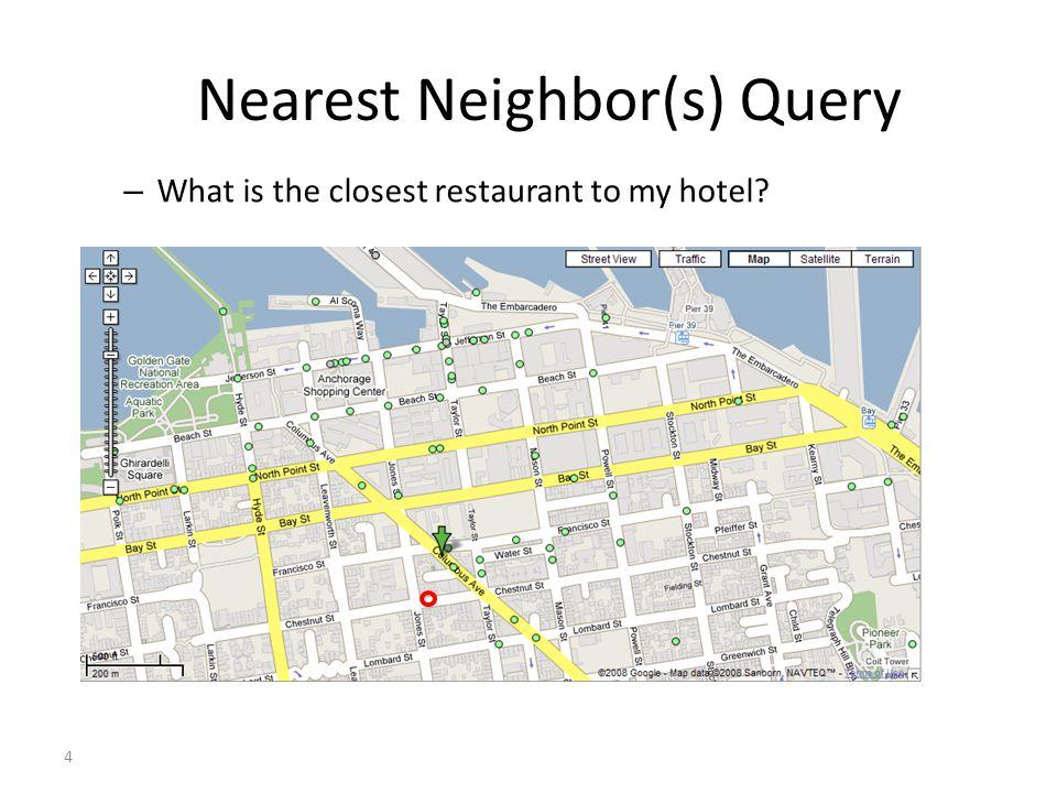 Nearest Neighbor(s) Query