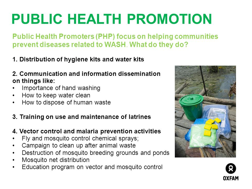 Public Health Promotion