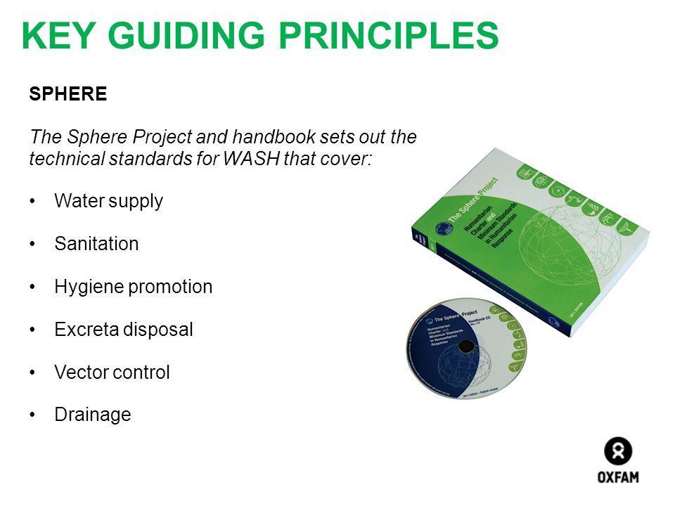 Key Guiding Principles