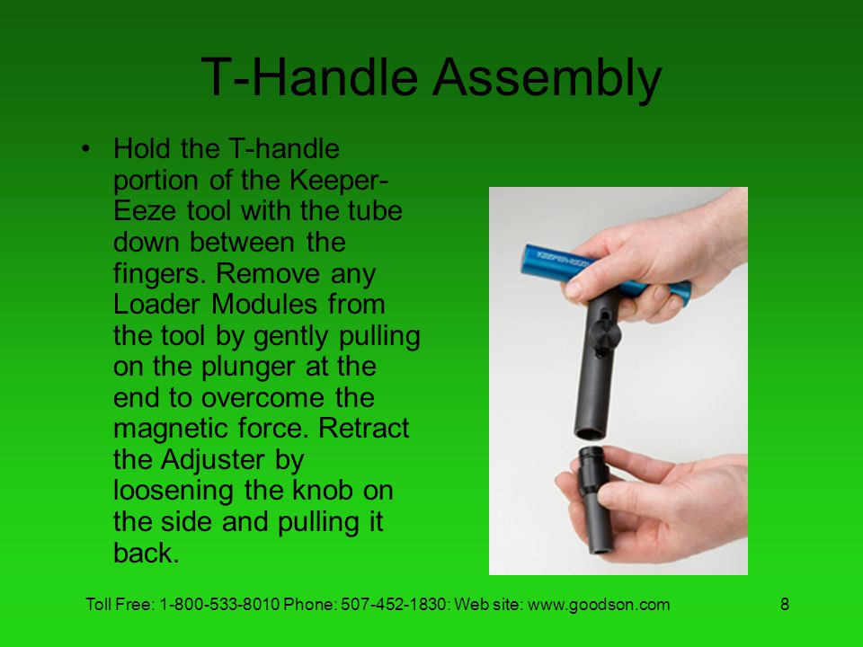 T-Handle Assembly