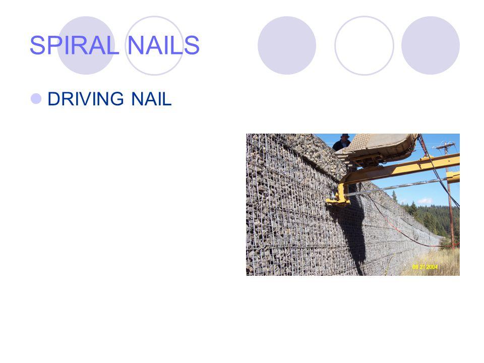 SPIRAL NAILS DRIVING NAIL