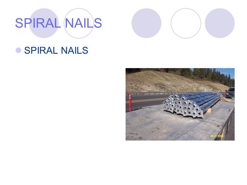 SPIRAL NAILS SPIRAL NAILS