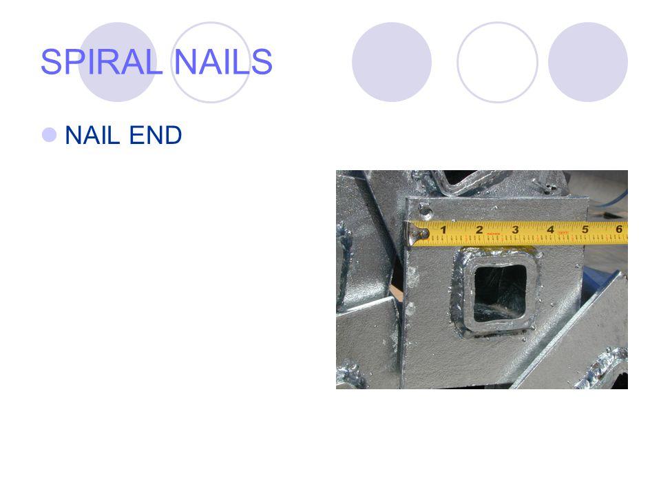 SPIRAL NAILS NAIL END