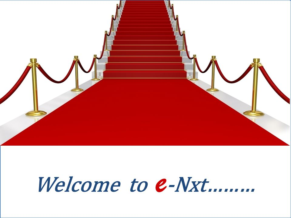 Welcome to e-Nxt………