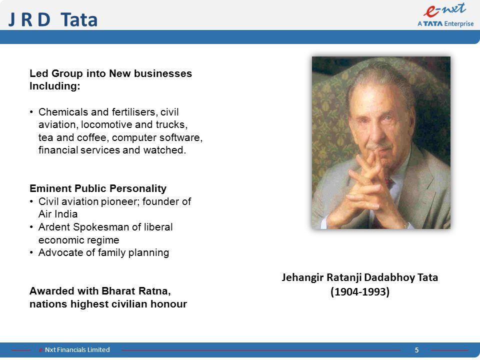 Jehangir Ratanji Dadabhoy Tata (1904-1993)