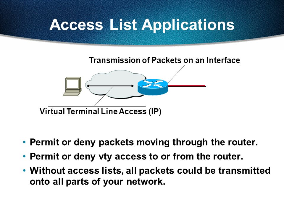 Access List Applications