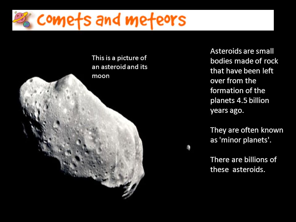 Asteroids – the minor planets