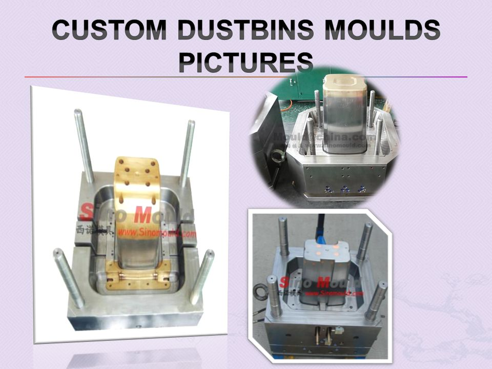 Custom Dustbins moulds pictures