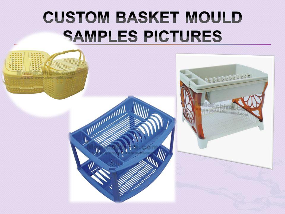 Custom Basket mould samples pictures