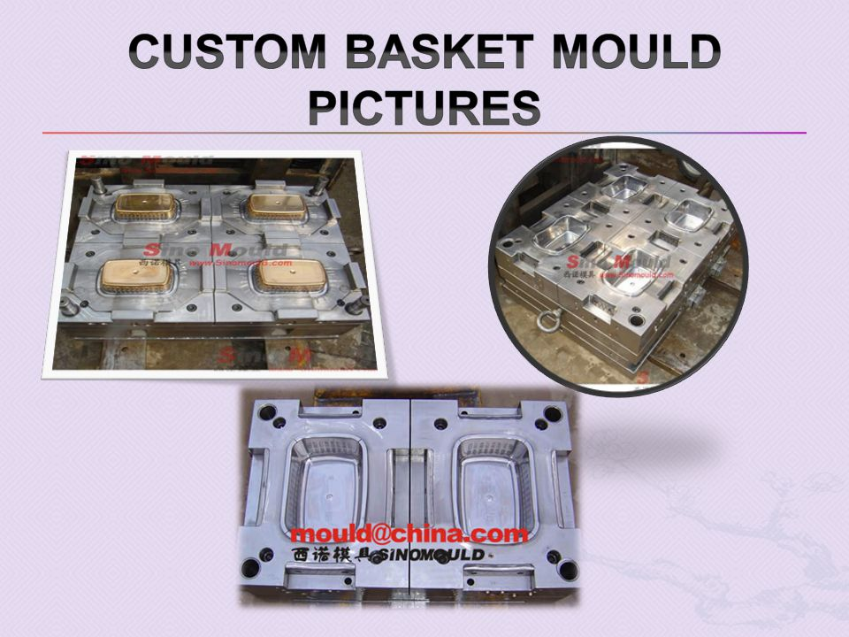 Custom Basket mould pictures