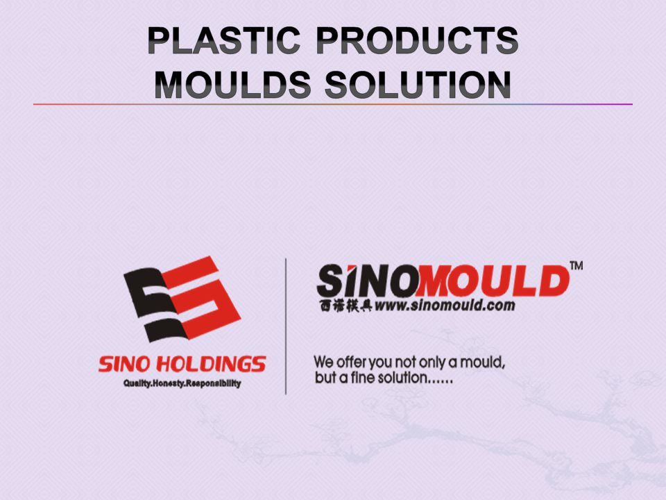 Plastic products moulds solution