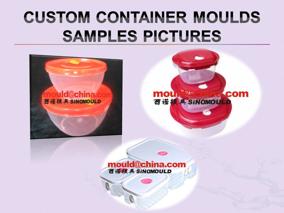 Custom Container moulds samples pictures