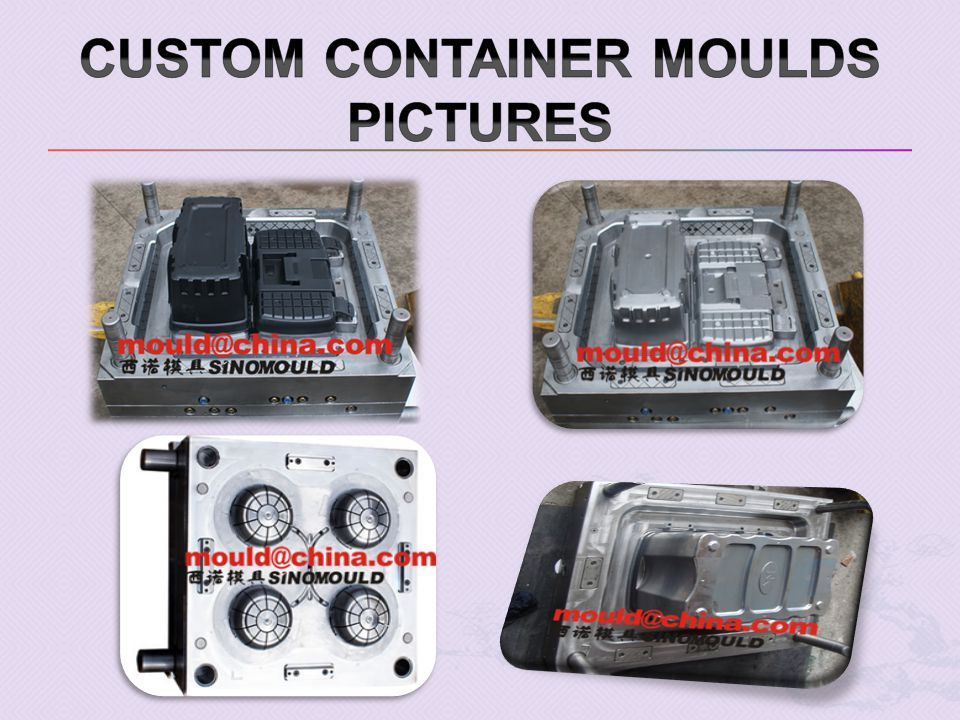 CUSTOM Container moulds pictures