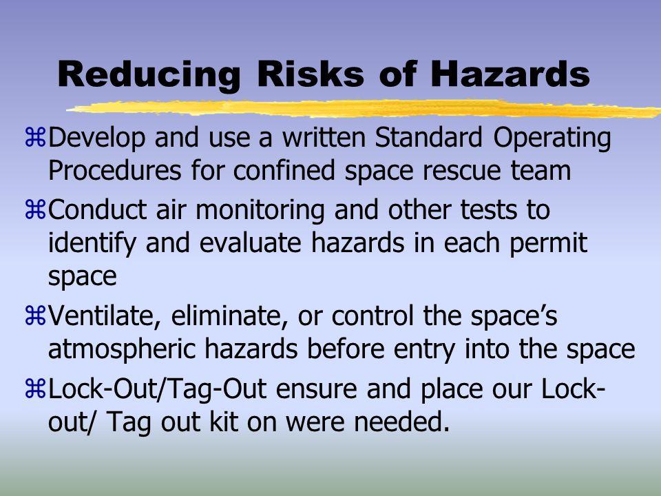 Reducing Risks of Hazards