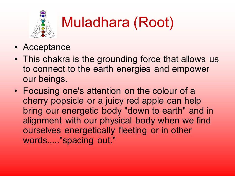 Muladhara (Root) Acceptance