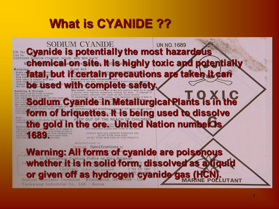 What is CYANIDE