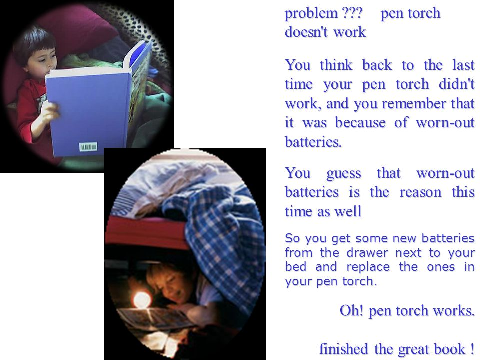 problem pen torch doesn t work
