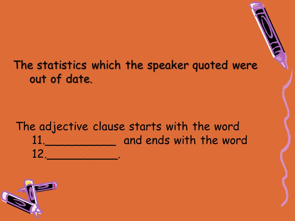 The statistics which the speaker quoted were out of date.