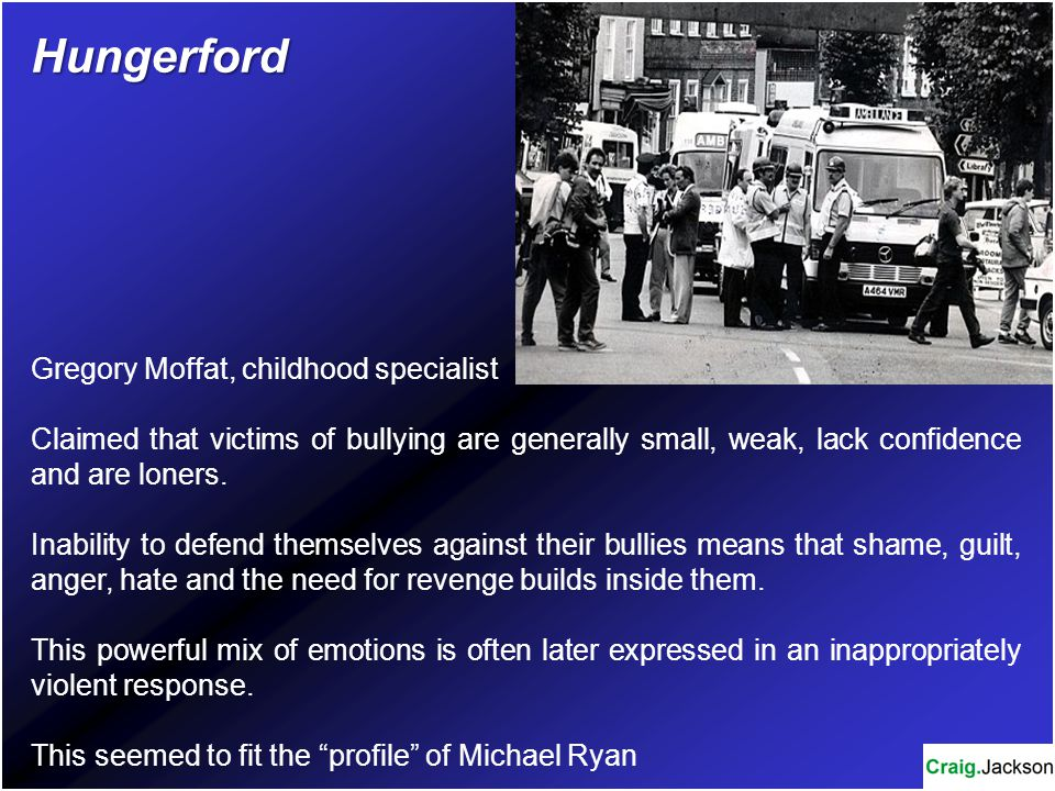 Hungerford Gregory Moffat, childhood specialist