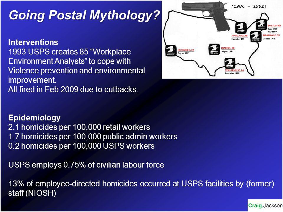 Going Postal Mythology