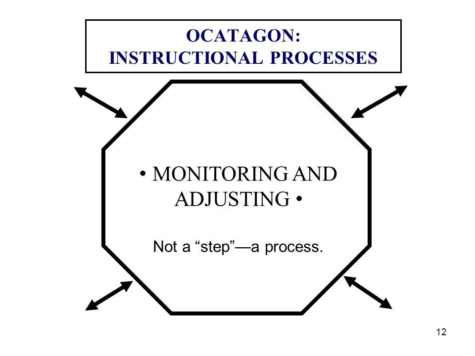 OCATAGON: INSTRUCTIONAL PROCESSES
