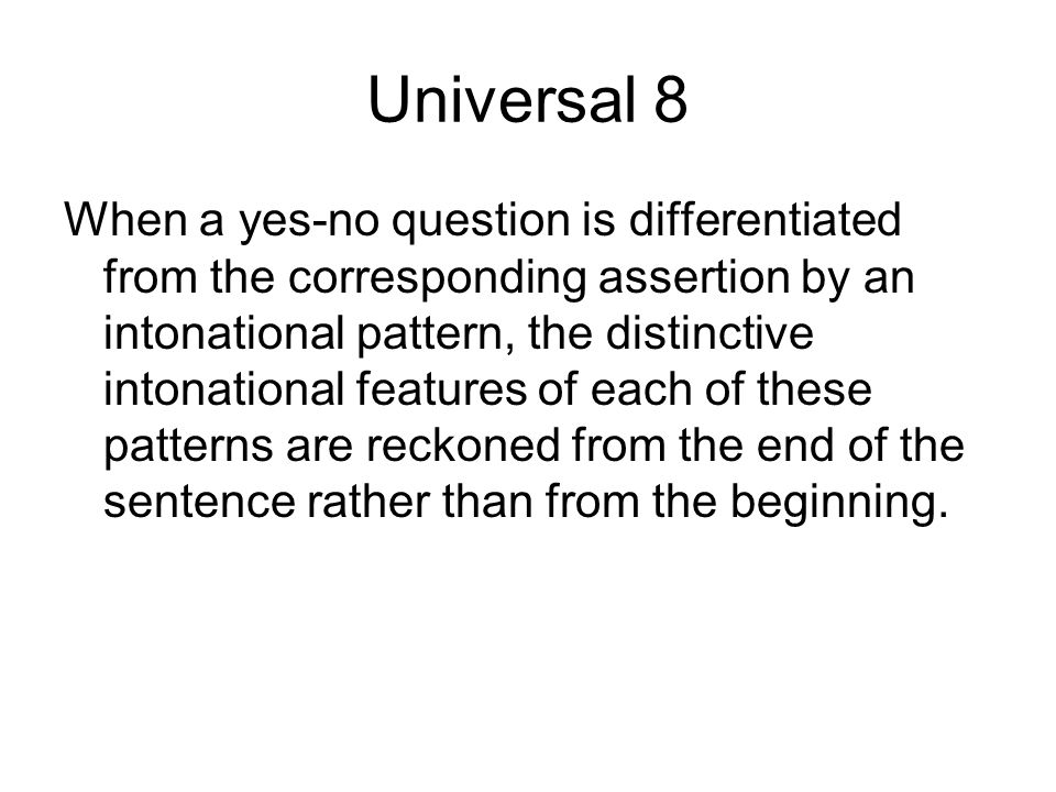 Universal 8