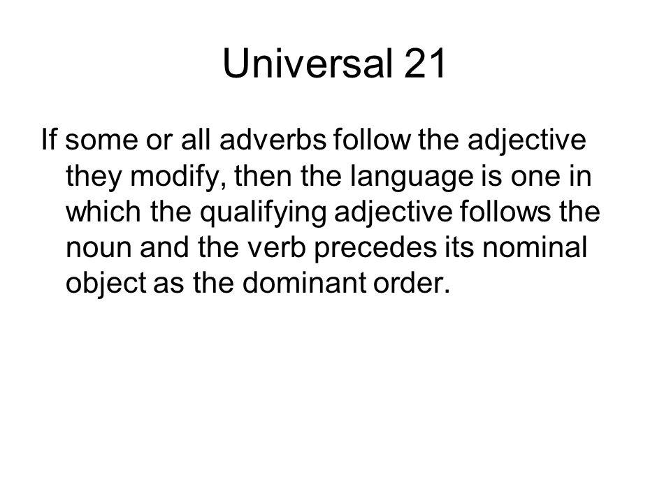 Universal 21