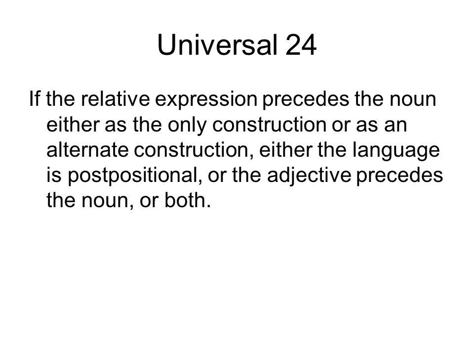 Universal 24