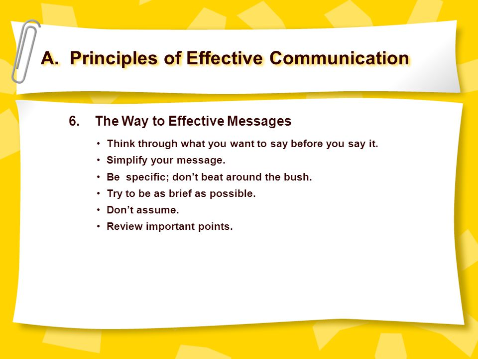 explain which principles you think are critical for effective communication Critical thinking is a domain-general thinking skill the ability to think clearly and rationally is important whatever we choose to do if you work in education, research, finance, management or.